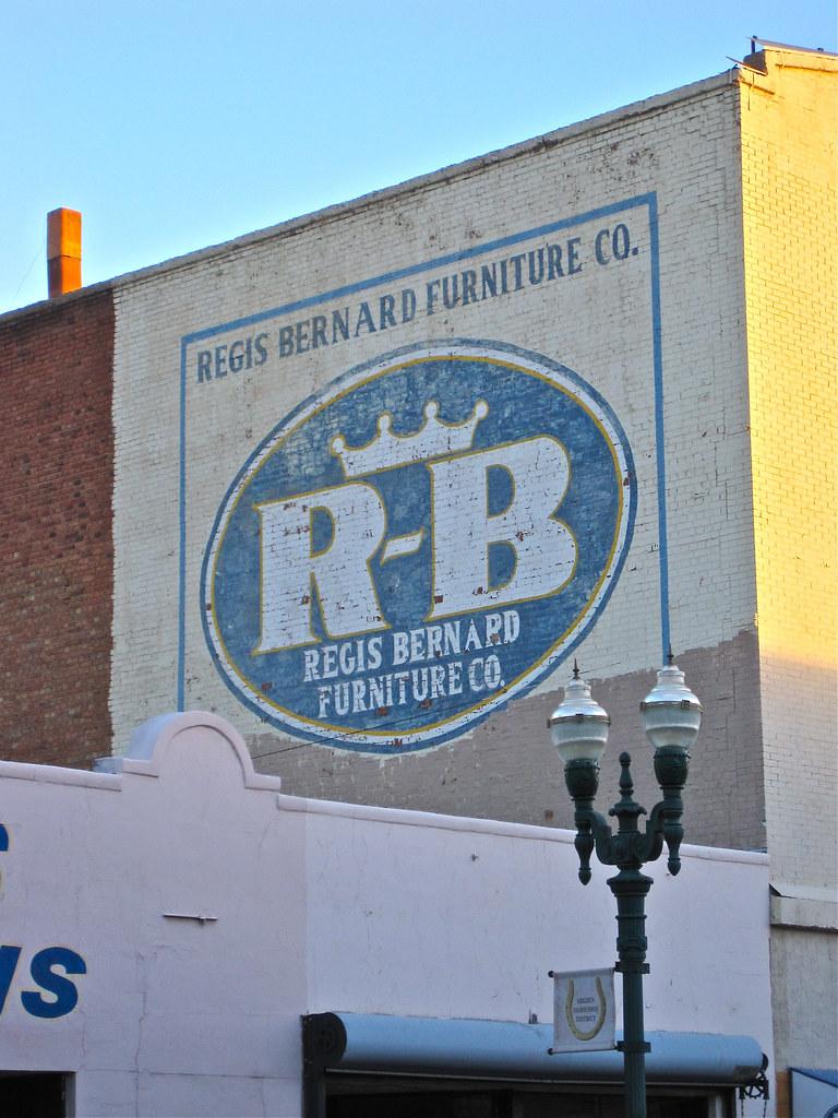 Regis Bernard Furniture, El Paso, TX (Robby Virus) Tags: Sign Bernard