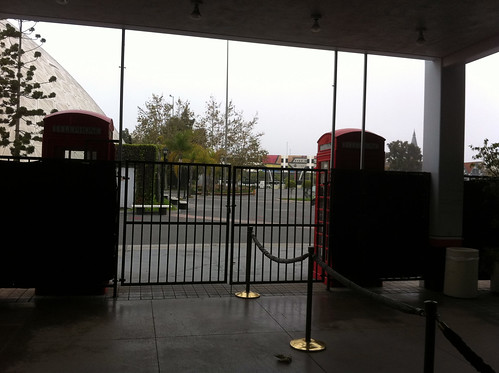 Queen Mary - Gate to Museum Is Locked, But We Are Inside