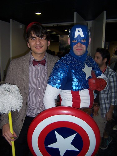 Eleventh Doctor & Captain America