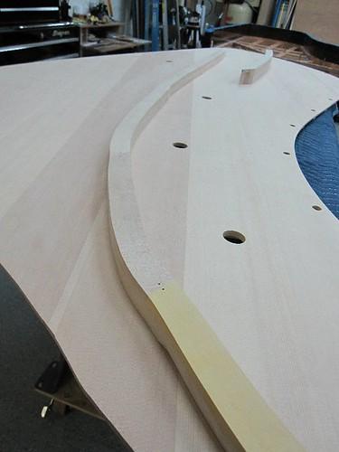 table d'harmonie Ravenscroft