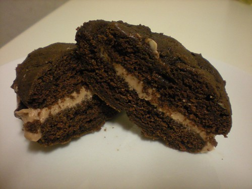 Nutella whoopie pie