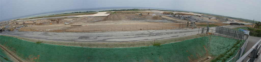 New Ishigaki Airport is under construction