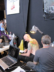 IMG_0024 (Tramorak) Tags: art tattoo liverpool tattooconvention convention deviant alternative bodymodification lowbrow 2010 ltc tattooist liverpooltattooconvention liverpooltattooconvention2010