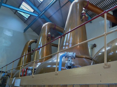 Whisky Stills at Aberlour Distillery