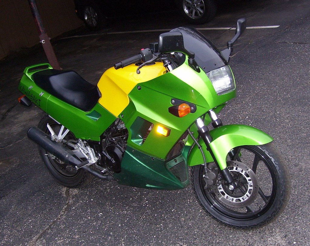 2004 EX250 Ninja