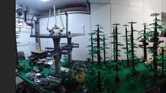 Overall panoramic picture (brickplumber) Tags: starwars endor fbtb starwatslegostarwars