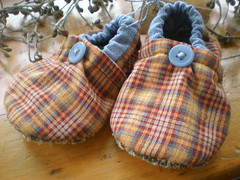 Homespun Baby! Shoes