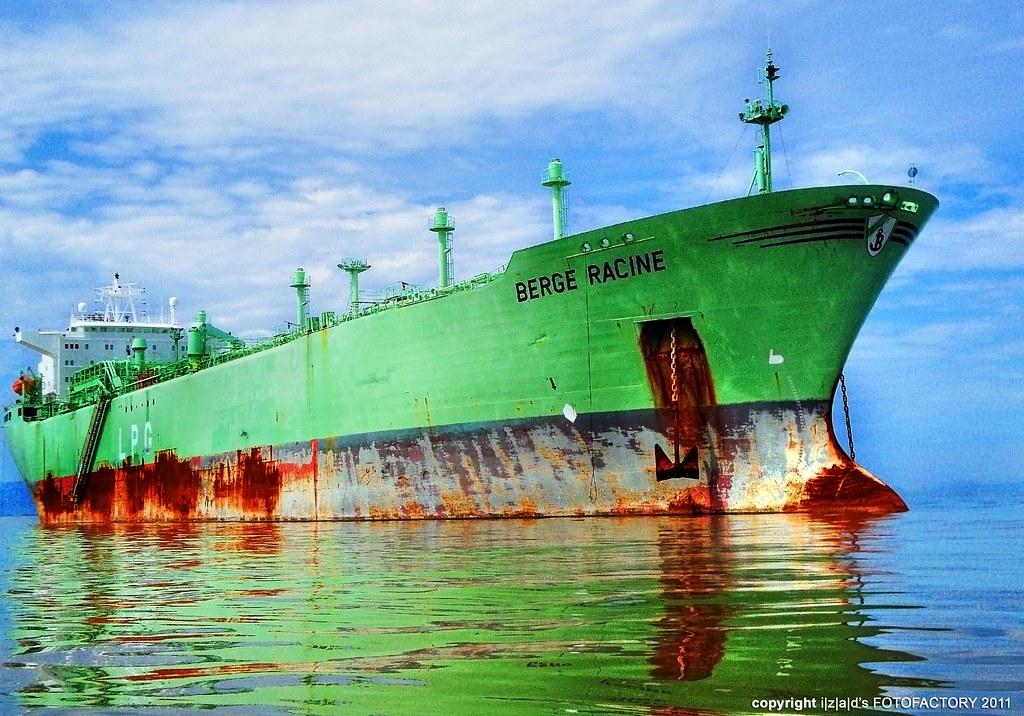 LPG Carrier: MT Berge Racine ... The last voyage