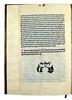 Colophon of Jacobus de Theramo: Consolatio peccatorum, seu Processus Belial