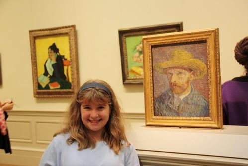 sprite with Van Gogh
