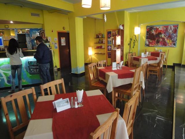 Restaurante vegetariano em Sofia