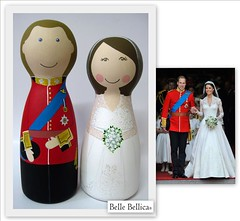 Belle Bellica - Royal wedding - 29 April 2011 (Belle Bellica) Tags: wedding real kate royal prince william catherine casamento noiva caketoppers noivo noivinhos bellebellica