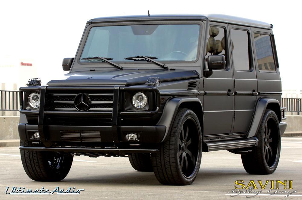 matte black mercedes g wagon on savini sv 28s wheels mercedes benz forum