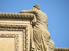 Fine Arts Building Statue
