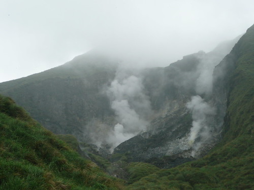 Steaming Rocks