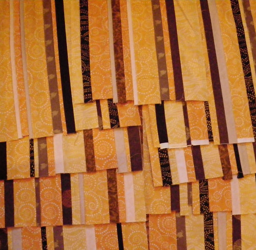 Strips for A Kiss in Time quilt