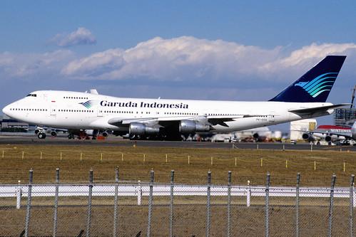 GARUDA INDONESIA Boeing 747-2U3B (PK-GSA/22246/452)