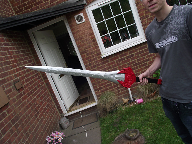 1 1 Red Ranger Power Sword Tyranno Ranger Ryugekiken