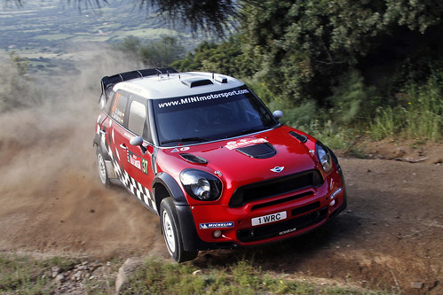 MINI WRC Shakedown Sardegna