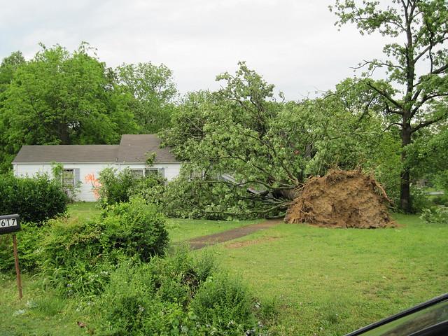 Tornado Damage by mark owens2009