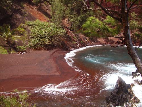 Red Sand Beach, Hana, Maui (1)