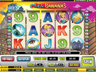 Cool Bananas Slot Machine