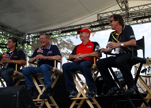 Roberto Guerrero, Bobby Unser, Al Unser Jr. and Arie Luyendyk talk about winning the Pole