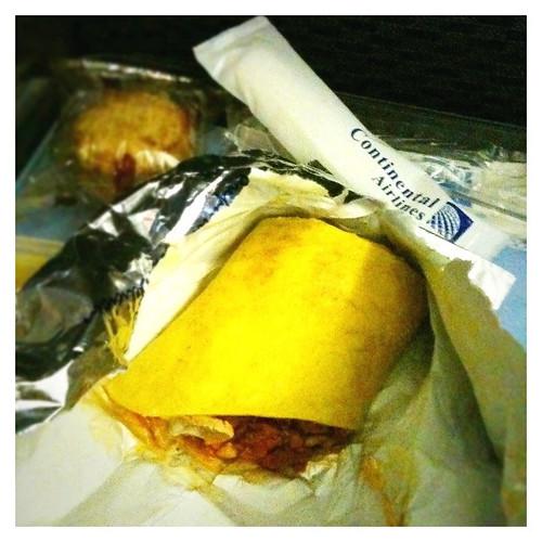 Plane Food ... Blah