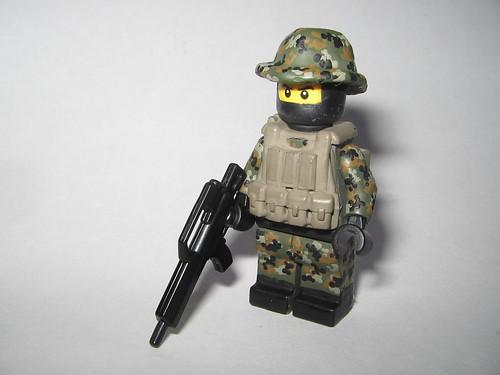 Custom minifig Bundeswehr KSK soldier