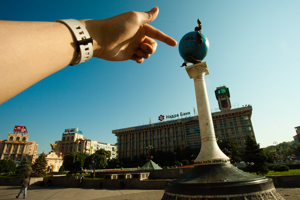 Kiev: Whole world in his hands