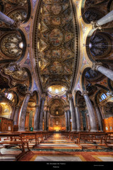San Giuseppe dei Teatini {EXPLORED} (Girolamo's HDR photos) Tags: light italy art church architecture canon photography interior baroque palermo girolamo photomatix tonemapping canoneos50d sangiuseppedeiteatini vertorama cracchiolo omalorig wwwomalorigcom