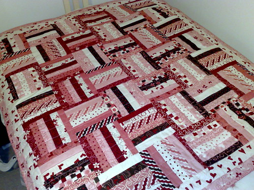 Love Heart Quilt by Duck Tales