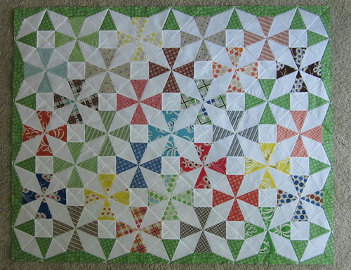 Saltwater Taffy Quilt #2 - progress K