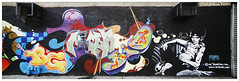 New York (Street art around the world) Tags: usa streetart newyork color wall graffiti photo mural bronx murals murales tats tatscru polillo robertopolillo
