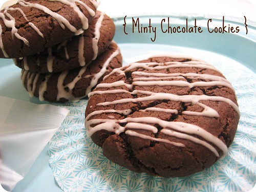 Minty Chocolate Cookies