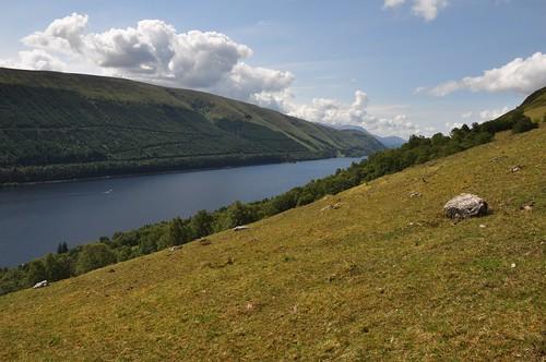 Loch Lochy from Kilfinnan