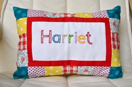 H pillow