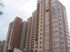 Public Block Alleya Roz TO (Phеnom) Tags: city windows urban brown building brick glass architecture apartment russia south don residential rostov rostovondon publichousing rostovnadonu outkirts toppedout alleyaroz publicblock