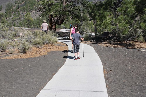 Hiking at Sunset Crater Nat'l Monument