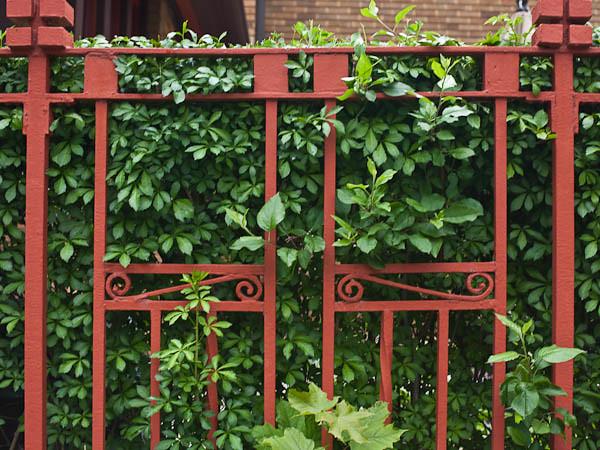 Wright-Like Garden Fence