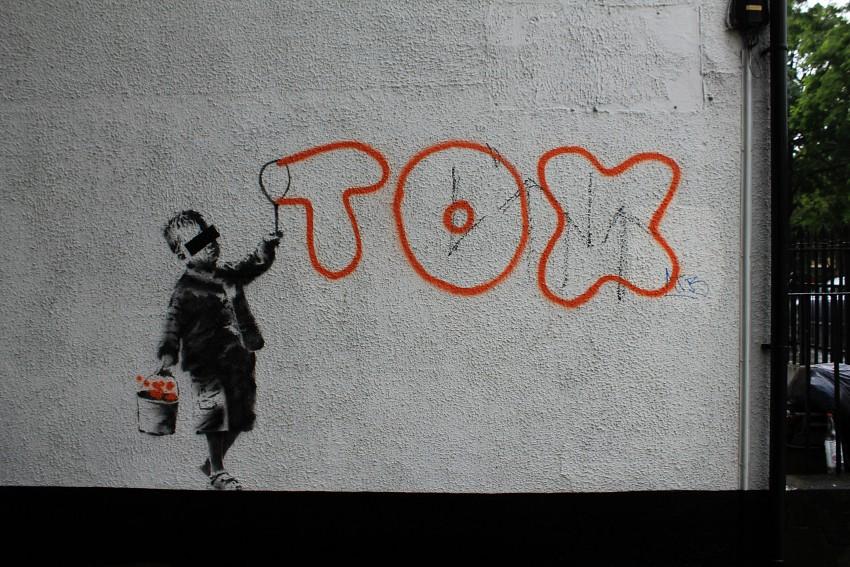 Banksy, 'TOX'. Camden Town.