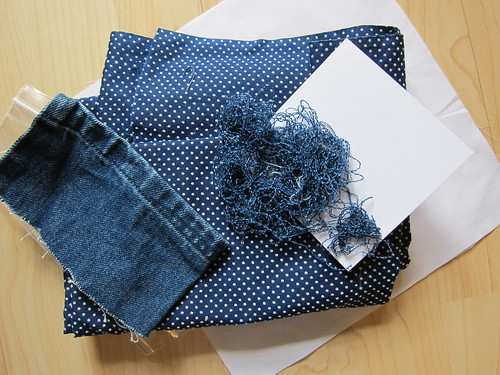makings of an indigo square