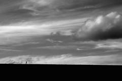 Run (ICT_photo) Tags: road columbus ohio silhouette dam running lone jogging runner jog alum lewiscenter ruleofthirds alumcreek cansuckit