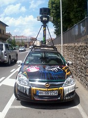 Google Street View Car - Front