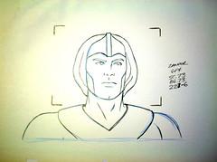 The Herculoids Hanna-Barbera animation pencil art #H104 (Nemo Academy) Tags: original hanna drawing herculoids barbera the