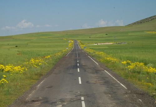 土國鄉間公路景色