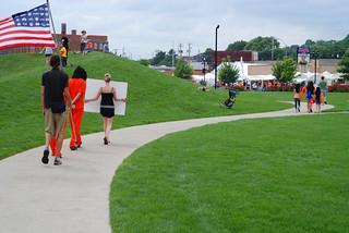Anti-Torture Vigil - Week 54: Des Moines Sculpture Garden