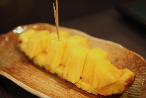 Dessert: Pineapple