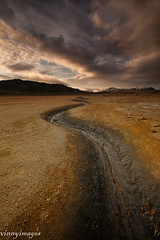 Iceland Travels (Vinnyimages) Tags: travel sunset iceland tourist geothermal scurve northiceland myvatan vinnyimages wwwvinnyimagescom myvatanbasin myvatanlake