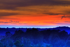 Imagine [EXPLORE] (Moniza*) Tags: sunset sky sun mountain nature silhouette clouds sunrise landscape dawn newjersey twilight nikon dusk nj explore valley augusta bluehour d90 sussexcounty explored moniza